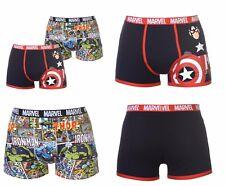 2 Pack Novelty Boxer Shorts Boxers Trunks Pants Marvel Comics Hero S M L XL 2XL