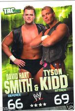 Slam Attax Tac Team - David Hart SMITH & Tyson KIDD
