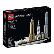 LEGO Architecture BUILDING SET, New York City 21028 Building Kit LEGO SET