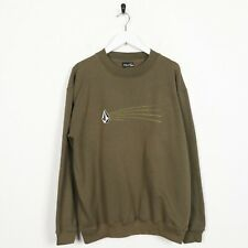 Vintage USA Graphic Sweatshirt Jumper Green Small S