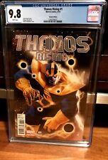 Thanos Rising #1 Djurdjevic 1:50 VARIANT CGC 9.8 NM Endgame WAR INFINITY Avenger