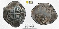 PCGS Peru 1694 LM 2 Reales Philippe V Spanish Colonial Silver Coin Scarce VF30