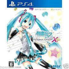 Hatsune Miku -Project DIVA- X HD SONY PS4 PLAYSTATION 4 JAPANESE NEW JAPANZON