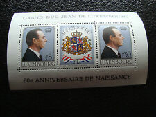 LUXEMBOURG - timbre yvert et tellier bloc n° 13 n** (Z9) stamp