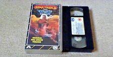 Star Trek The Wrath Of Khan UK VHS VIDEO 1989 William Shatner Ricardo Montalban