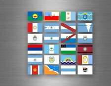 Flag sheet sticker labels country subdivisions states province  argentina