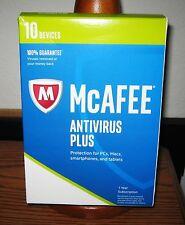 McAfee Antivirus Plus 2017 - 10 Devices 1 Year