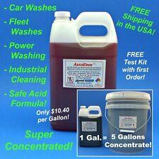 AutoKleen Car Wash Acid Soap Presoak and Industrial Cleaner