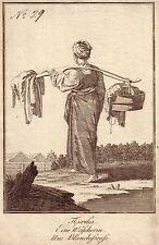 Original-Kupferstiche über Kostüme, Mode & Trachten (1800-1899) aus Russland