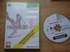 Final Fantasy XIII-2 13-2 Promo not for resale UKV