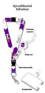 Fedex Logo Lanyard Set
