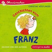 OHRWÜRMCHEN GESCHICHTEN VOM FRANZ - NÖSTLINGER,CHRISTINE   CD NEW