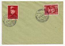 Beleg 1941 + Mi Nr. 763 und 772 mit SST Berlin 25.11.1941 Europas Einheitsfront