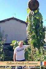 """15 Graines TOURNESOL """"Mongolian Giant"""" (géant de Mongolie)-méthode Bio Sunflower"""