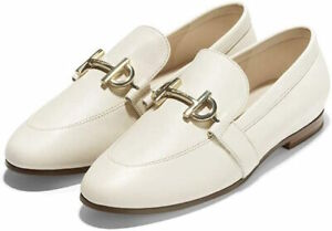 Womens Cole Haan Modern Classic Loafer - Ivory Leather, Size 8 M [W19232