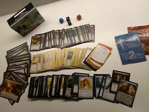 Magic the Gathering Lot Cards Collection and more rare items Box staples