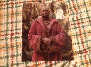 Colin Salmon autograph - Merlin.