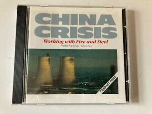 China Crisis Working With Fire And Steel CD Virgin 1984