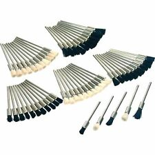60 Polishing Bristle Brushes Watchmaker Cleaning Buffing Tools
