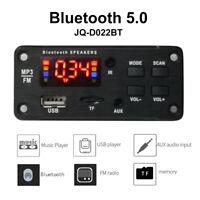 Vehicle FM Radio Car Bluetooth Speaker Module MP3 Decoder Board Music Player US