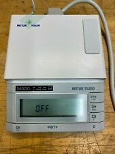 Mettler Toledo SAG285 Analytical Balance Display Control Unit - NO Power Supply