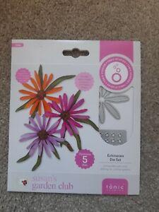 BNIP Tonic Studios Susan's Garden Club Echinacea Die Set