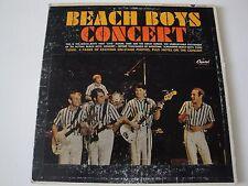 BEACH BOYS CONCERT VINYL LP 1964 CAPITOL RECORDS TAO 2198, MONO, SCRANTON PRESS