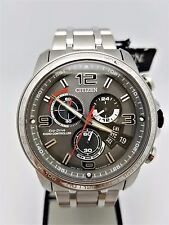 Citizen Eco-Drive Gents Chronograph Atomic Time Watch BY0100-51H