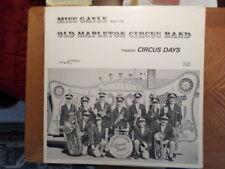 KL RECORDING LP KLP 120/MISS GAYLE OLD MAPLETON CIRCUS BAND/ CIRCUS DAYS/ EX+