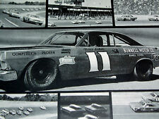 1967 FORD FAIRLANE 427 V8 ENGINE/ORIGINAL AD-Mario Andretti/VTG NASCAR/RACING/GT
