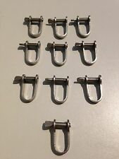 Trolling Shackles *40 PACK* 400kg SS for Game fishing trolling fishing lures