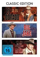 3 DVDs * JOHN WAYNE EDITION - EL DORADO/BIG JAKE/DIE VIER SÖHNE DER K. ELDER