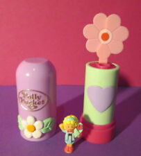 Polly Pocket Mini ♥ POP UPS Flower ♥ Lippenstift ♥ 100% Komplett ♥ 1992 ♥