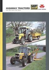 Equipment Brochure - Massey Ferguson - 350H et al - Highway Tractor 1991 (E4430)