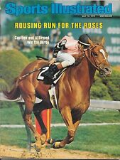 Sports Illustrated 1978 AFFIRMED Kentucky Derby STEVE CAUTHEN Alydar NO LABEL