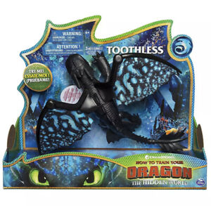 DreamWorks How to Train your Dragon: The Hidden World Deluxe Dragon Toothless