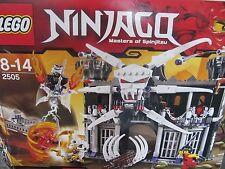 Lego Ninjago 2505 Garmadons Festung komplett mit BA  Figuren fehlen  ++top++