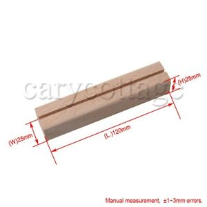 6PCS Card Holders For Office, Home, Hotel Decoration   Wood