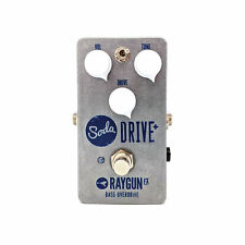 More details for raygun fx soda drive+ - bass overdrive distortion handmade fx pedal new uk