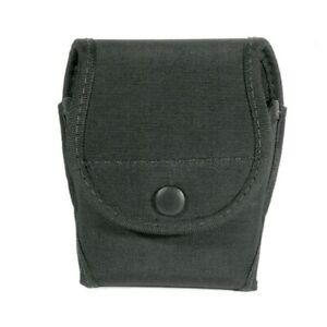 Blackhawk 44A100BK Black Single Handcuff Pouch Fits Asp Chain Or Hinge Cuff