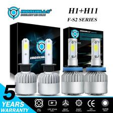 H1+H11 Total 4000W LED Headlight Bulbs 6000K High&Low Beam for Ford Focus 12-18