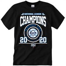 NEW 2020 Tampa Bay Rays MLB World Series Champions Baseball Unisex T-Shirt S-3XL