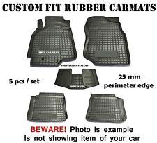 Rubber Carmats for Mitsubishi Lancer IX 2003-2008 All Weather Floor Mats 5 pcs
