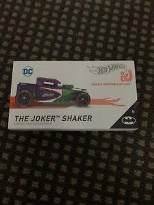 Hot Wheels id Batman The Joker [LTD Run] Bone Shaker 2021 - New/*XHTF* [E-808]