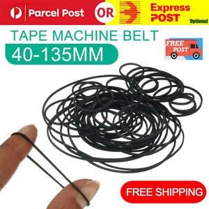 Universal 40-135mm Mix Cassette Tape Machine Square Belt Assorted Kit