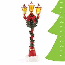 4049275 Possible Dreams Clothtique Santa Accessory Santa's Lamp Post NIB