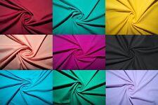 69 Colors Nylon Lycra Spandex 4 Way Stretch Swimwear Cosplay Fabric BTY
