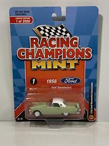 1956 Ford Thunderbird Convertible Green 1:64 Racing Champions RC012