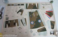 Genre image grandes constructions épinal Vickers Wellington imp. allemagne 1940