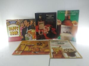5 Happy Hour Bar Guide Mix Drink Recipes Booklets. 1960s 70s